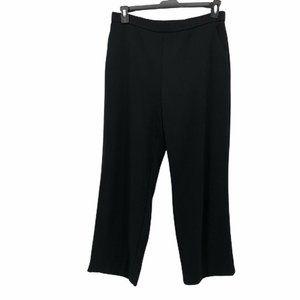 Dana Buchman Womens Straight Pants Black 14S